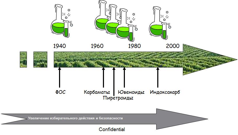 История открытия инсектицидов