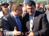 Ректор МичГАУ Никитин А.В. и зам. министра МСХ Черноиванов на конференции садоводов в Мичуринске