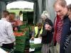 Массовый сбор ягод земляники