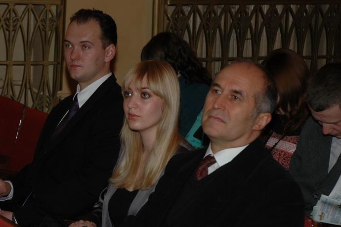 Адам Сулек (Польша), Миронова Алена, Карло Хротко (Венгрия)