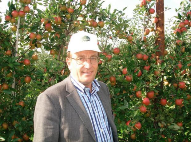 Херманович Кшиштоф (фирма «FRECH FRUIT SERVIS», Польша) в своем саду