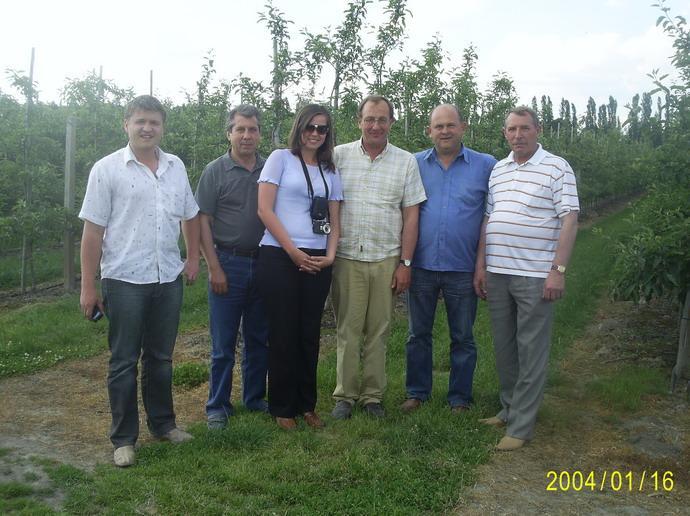 АСП РУС в гостях у Хермановича Кшиштофа (фирма «FRECH FRUIT SERVIS», Польша)