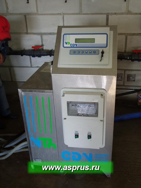 Компьютер для фертигации к контроллерами по РH и EC