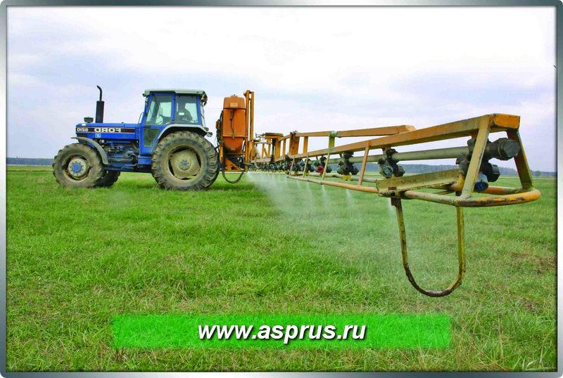 Применение гербицидов против сорняков перед вспашкой и посадкой
