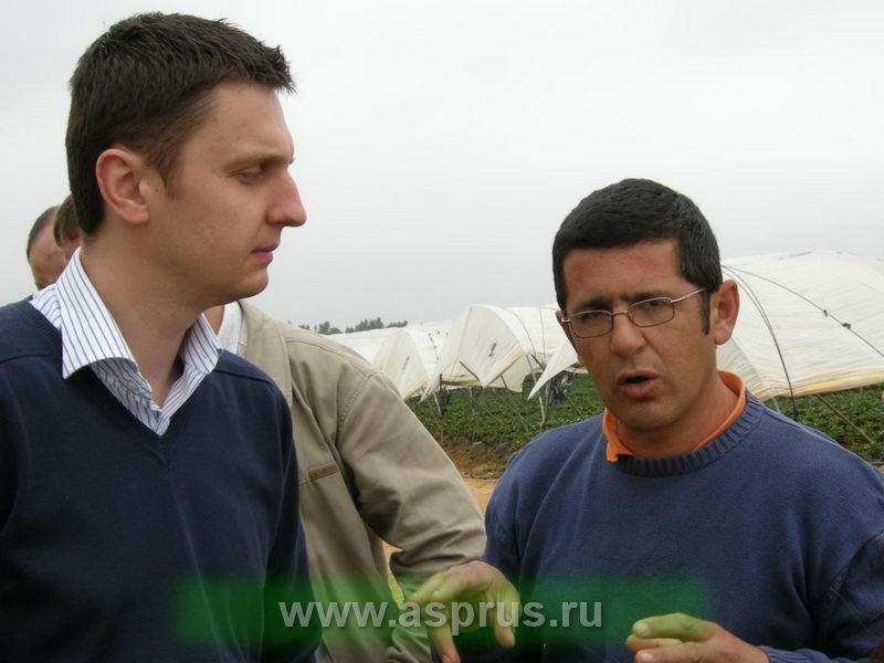 Специалист фирмы INTA CDN (Испания) Лукаш Жебровский.